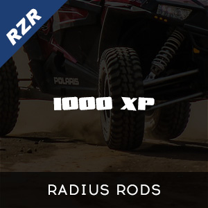 RZR 1000 XP Radius Rods