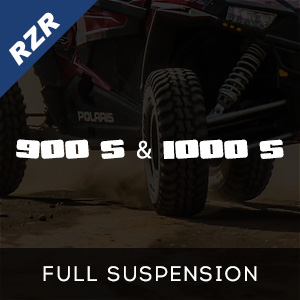 RZR 900 S & 1000 S Full Suspension