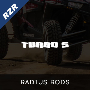 RZR Turbo S Radius Rods