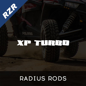 RZR XP Turbo Radius Rods