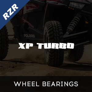 RZR XP Turbo Wheel Bearings