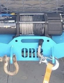 Lower Winch Bumper