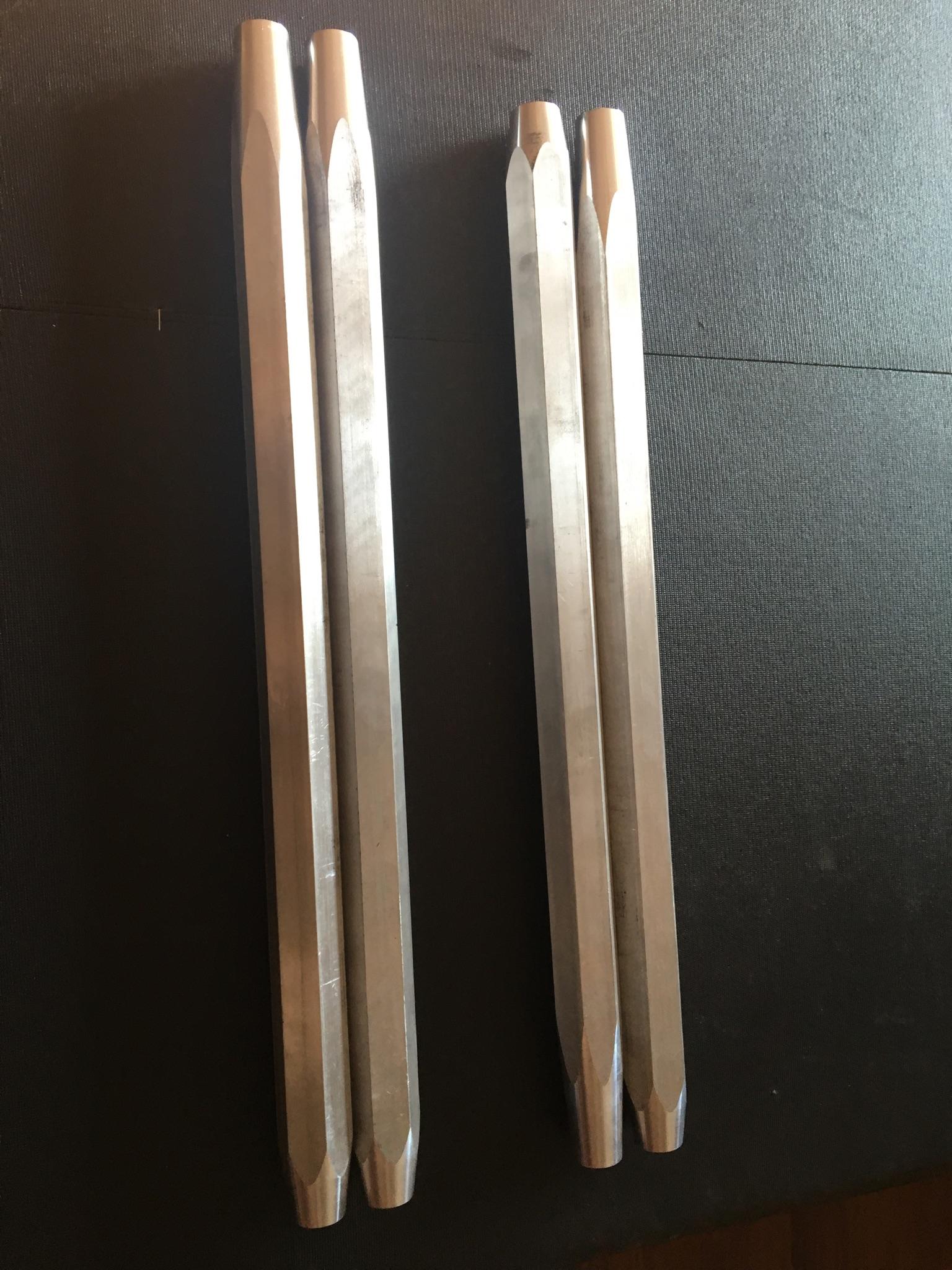 Aluminum Radius Rods 1000 Xp Orb Fabrication