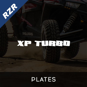 RZR XP Turbo Plates