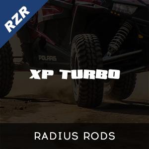 RZR XP Turbo Radius Rods