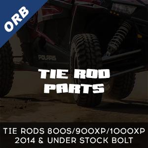 Tie Rods 800s/900xp/1000xp 2014 & under stock bolt